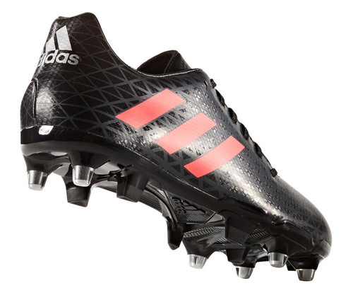 2cb77acc3a4 Adidas Malice SG Rugby Boots - Black - Rugby City