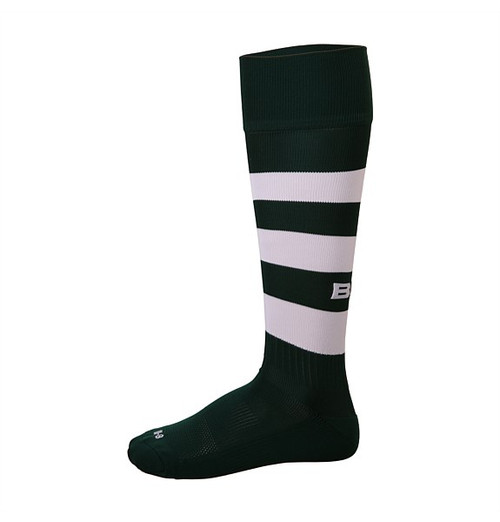 BLK TEK Rugby Socks - Green/White | Rugby City