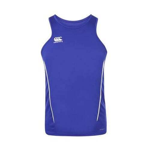 Canterbury Team Dry Singlet - Royal/White | Rugby City