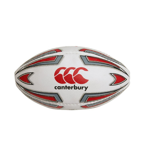 Canterbury Altuo Mini Ball - White/Red | Rugby City