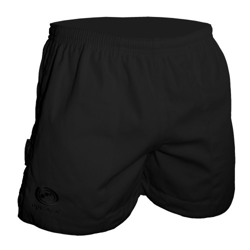 Optimum Sports Auckland Rugby Shorts -Black | Rugby City