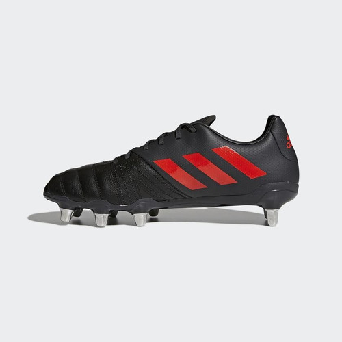 aa10d6b36bfd Adidas Kakari SG Rugby Boot - Black Red - Rugby City