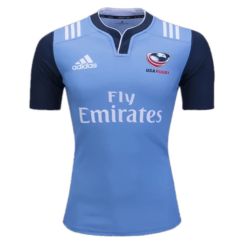 USA Rugby 2017 Training Rugby Jersey - Blue | Rugby City