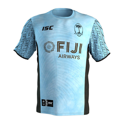 ISC Fiji Rugby Sevens Training Tee - Blue | Rugby City
