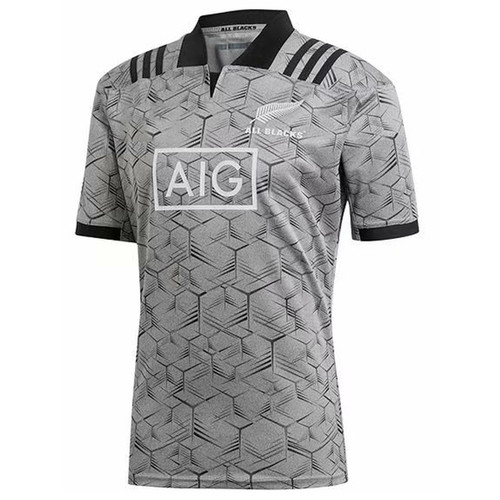 New Zealand All Blacks Training Jersey 2018/19 | Rugby City