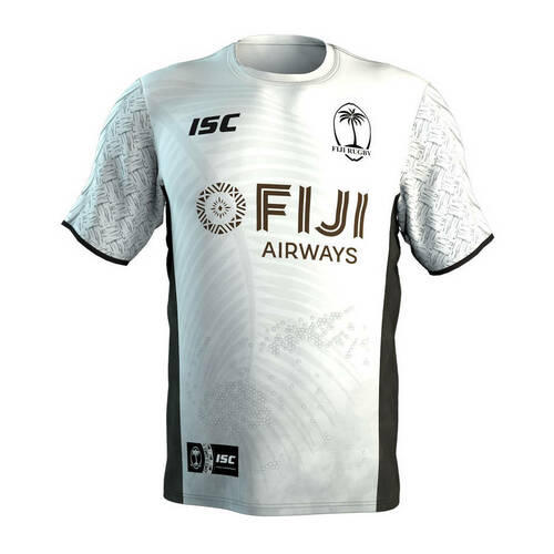 ISC Fiji Rugby Sevens Training Tee - White | Rugby City