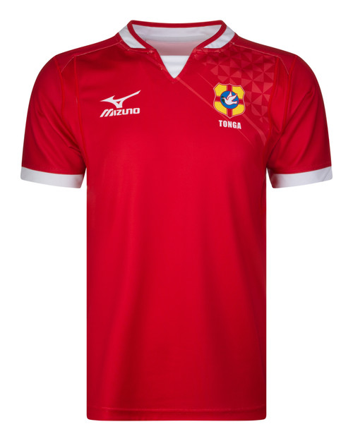Mizuno Tonga Home Rugby Jersey - Front