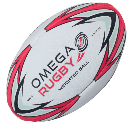 Omega Rugby Weighted Ball - Pass Developer   Rugby City