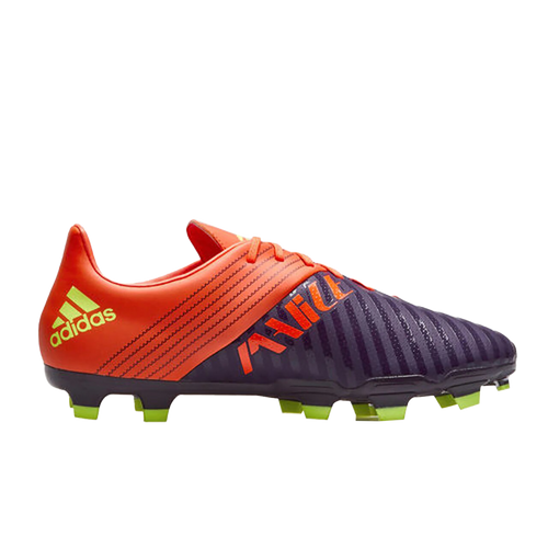 Adidas Malice FG Rugby Boot - Legend Purple/Hi-res Yellow/True Orange