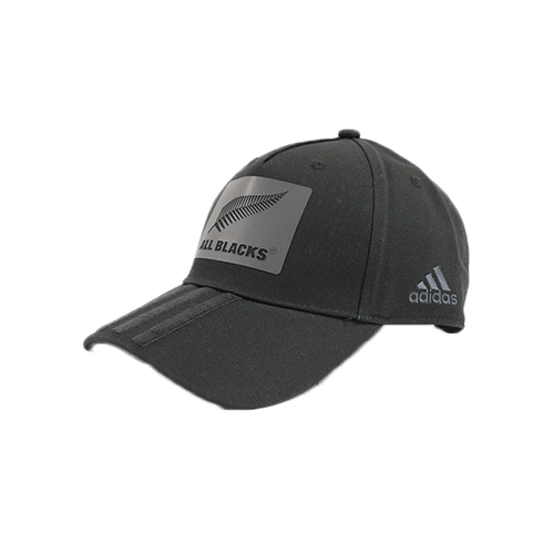 Adidas All Black 3S Cap- Black | Rugby City
