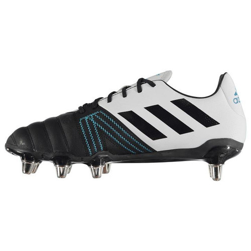 Adidas Kakari Elite Rugby Boots -  Legend Ink / Shock Cyan / Aero Blue | Rugby City