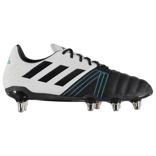 Adidas Kakari Elite Rugby Boots -  Legend Ink / Shock Cyan / Aero Blue
