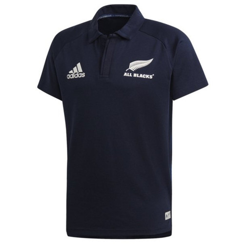 Adidas New Zealand All Blacks Parley Polo - Black