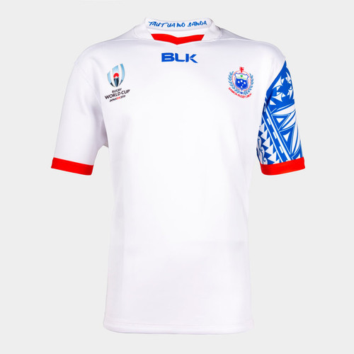 BLK Samoa Rugby World Cup 2019 Jersey - White | Rugby City