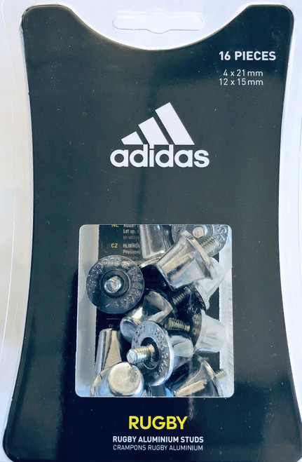 Adidas Rugby Boot Studs - Silver | Rugby City