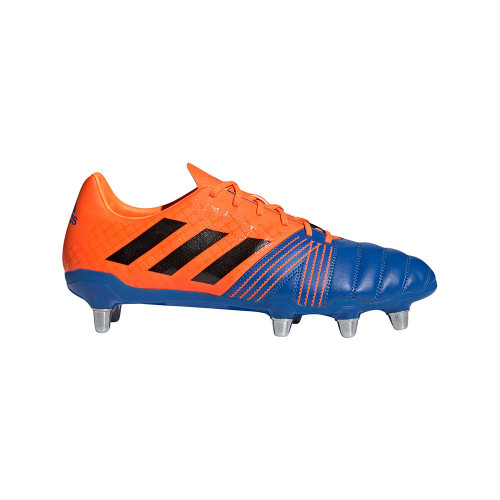 Adidas Kakari SG Rugby Boots - Blue/Orange
