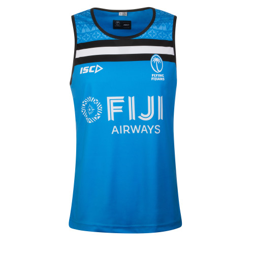 ISC Fiji 2019/20 Players Rugby Training Singlet - Blue