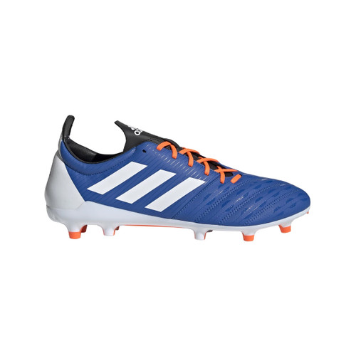 Adidas Malice FG Rugby Boots - Blue/Orange | Rugby City