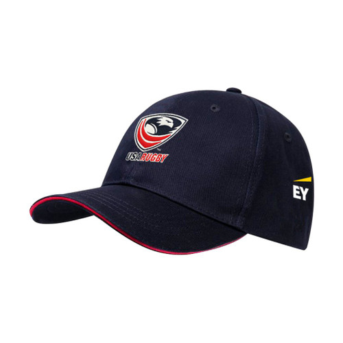 USA Rugby Adjustable Cotton Cap - Ernst and Young