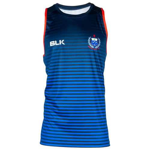 BLK Samoa Rugby Training Singlet 2020 - Royal Blue