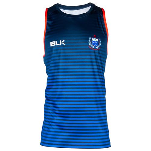BLK Samoa Rugby Training Singlet 2020 - Royal Blue