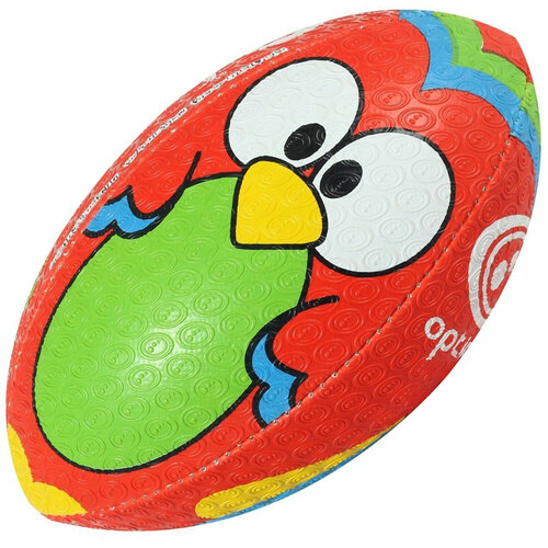Optimum Cartoon Rugby Ball - Parrot