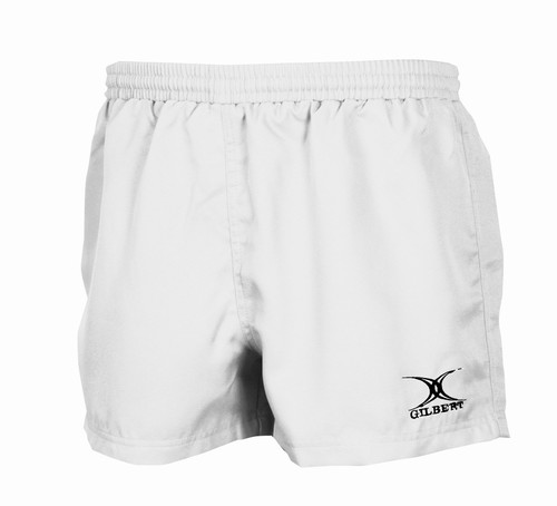 Gilbert Saracen Rugby Shorts -White