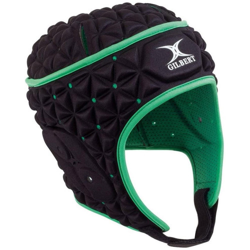 Gilbert Ignite Headguard - Black/Green