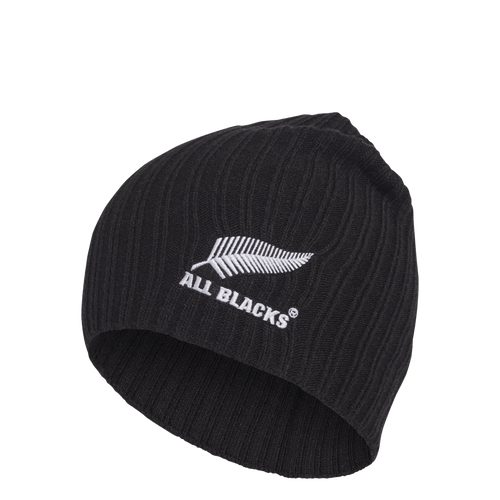 Its soft, ribbed acrylic fabric dials up the comfort.  Featuring a shorter shape, this skull cap is a definite go to for the consumer who follows the trend of the shorter fisherman styles.  This black beanie donning an embroidered All Blacks crest, is certain to spark captivating conversations about one of the most fascinating rugby teams in the world.