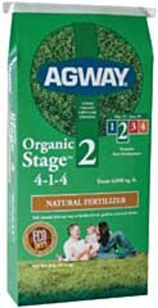 Agway Organic Fertilizer Step 2,  4-1-4  40 Lb Bag