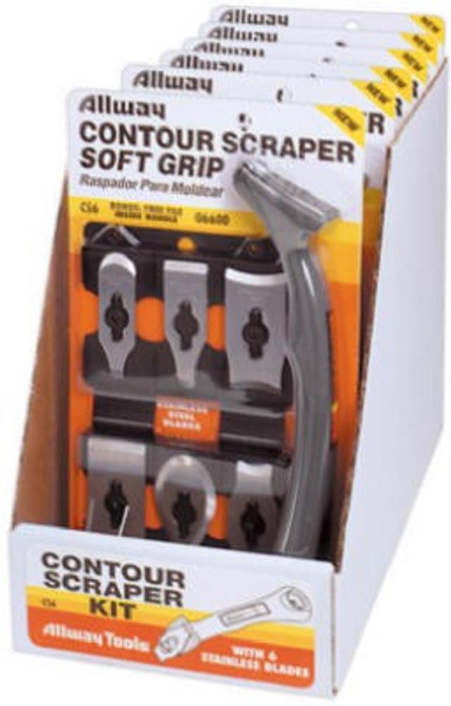 Allway Model CS6, Soft Grip Contour Scraper Kit
