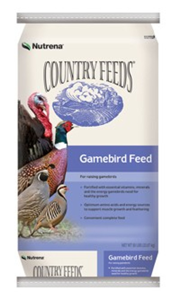 Country Feeds, Gamebird, Starter, 28%, 50 Lb