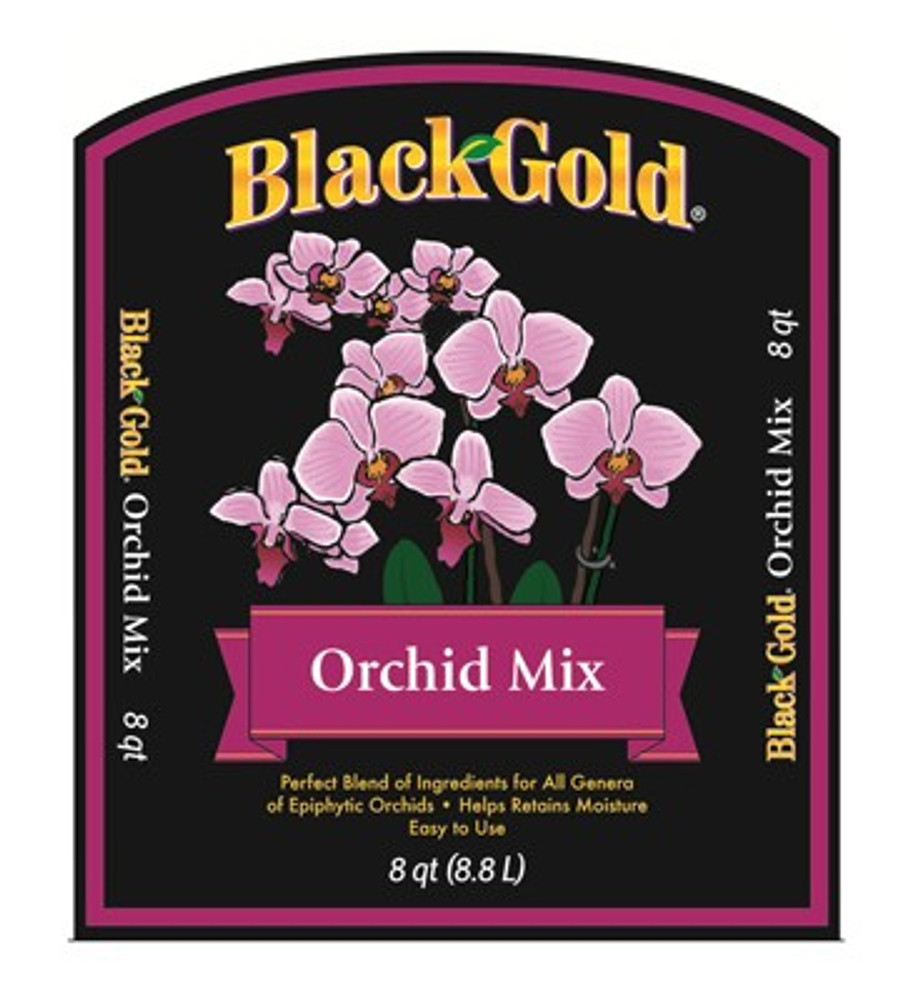 Black Gold, Orchid Mix  8 Qt
