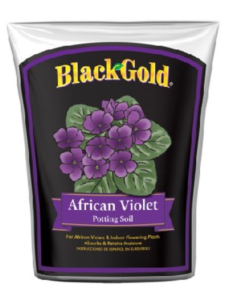Black Gold, African Violet Potting Soil, 8 Quart