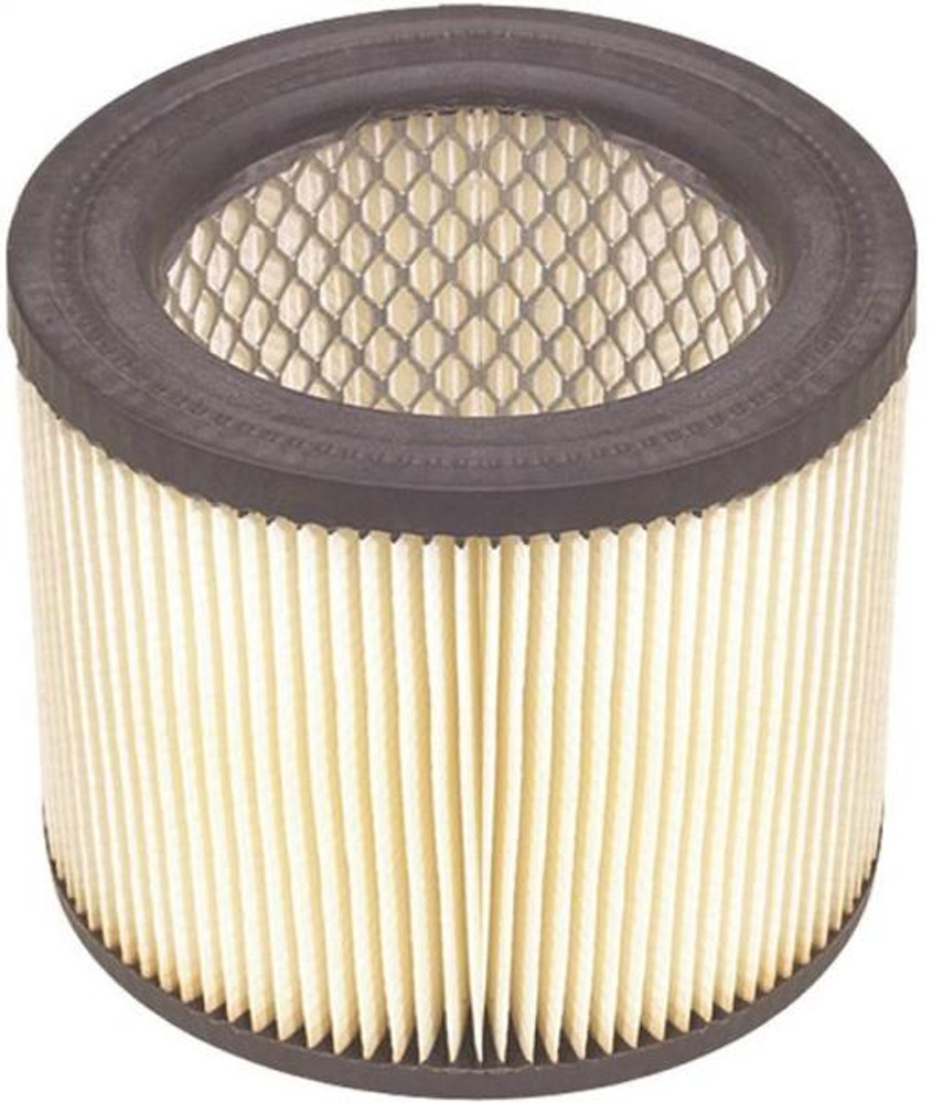 "Shop Vac, Cartridge Filter, For Dry Pick Up, 5-3/4"" x 5"""