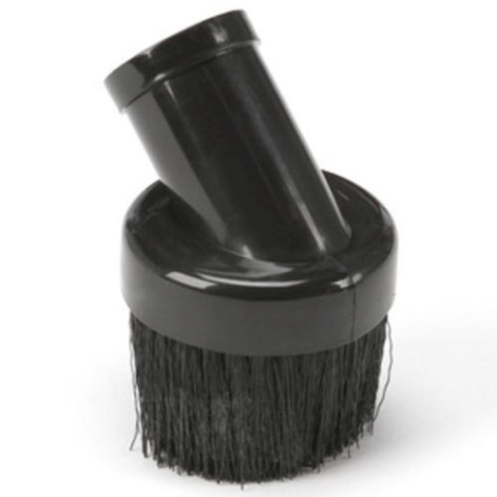 "Shop Vac, Round Brush, 1-1/4"" Hose Connection, Plastic, Black"