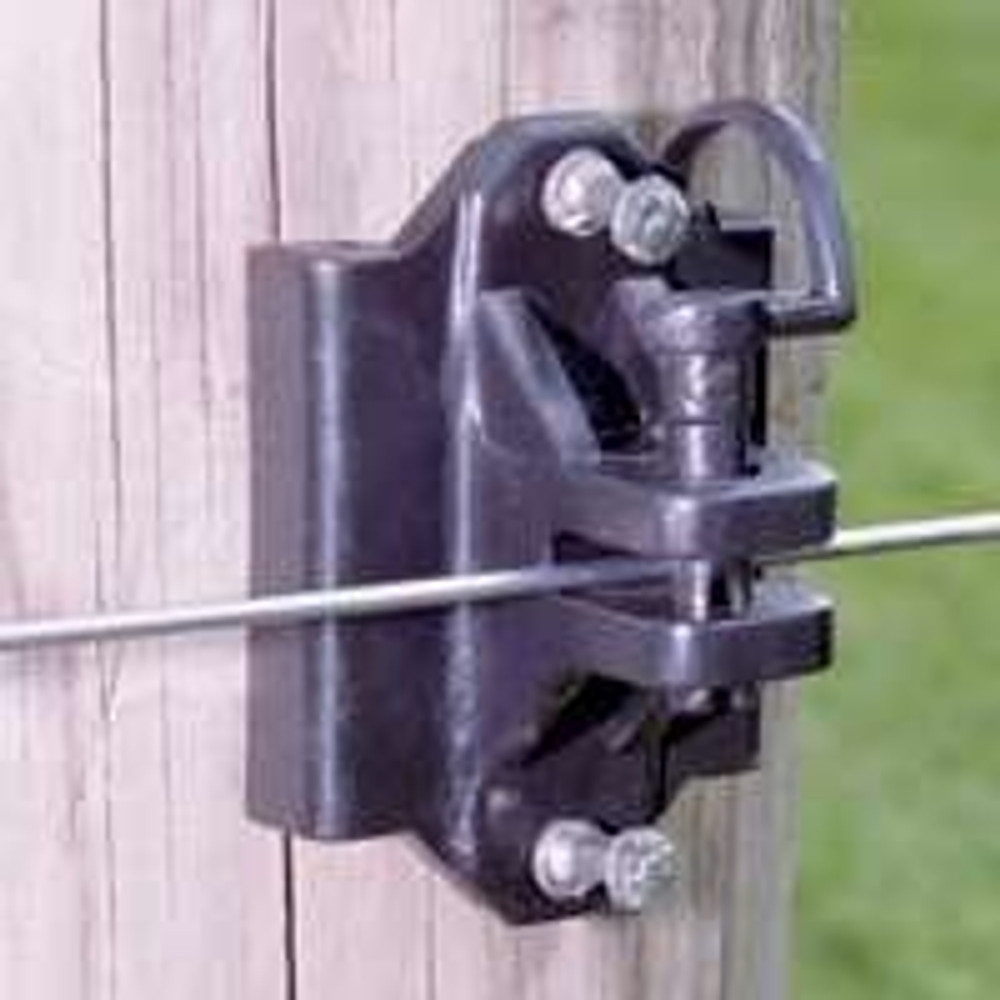 Electric Fence Pin Lock Insulator, 25 Pack