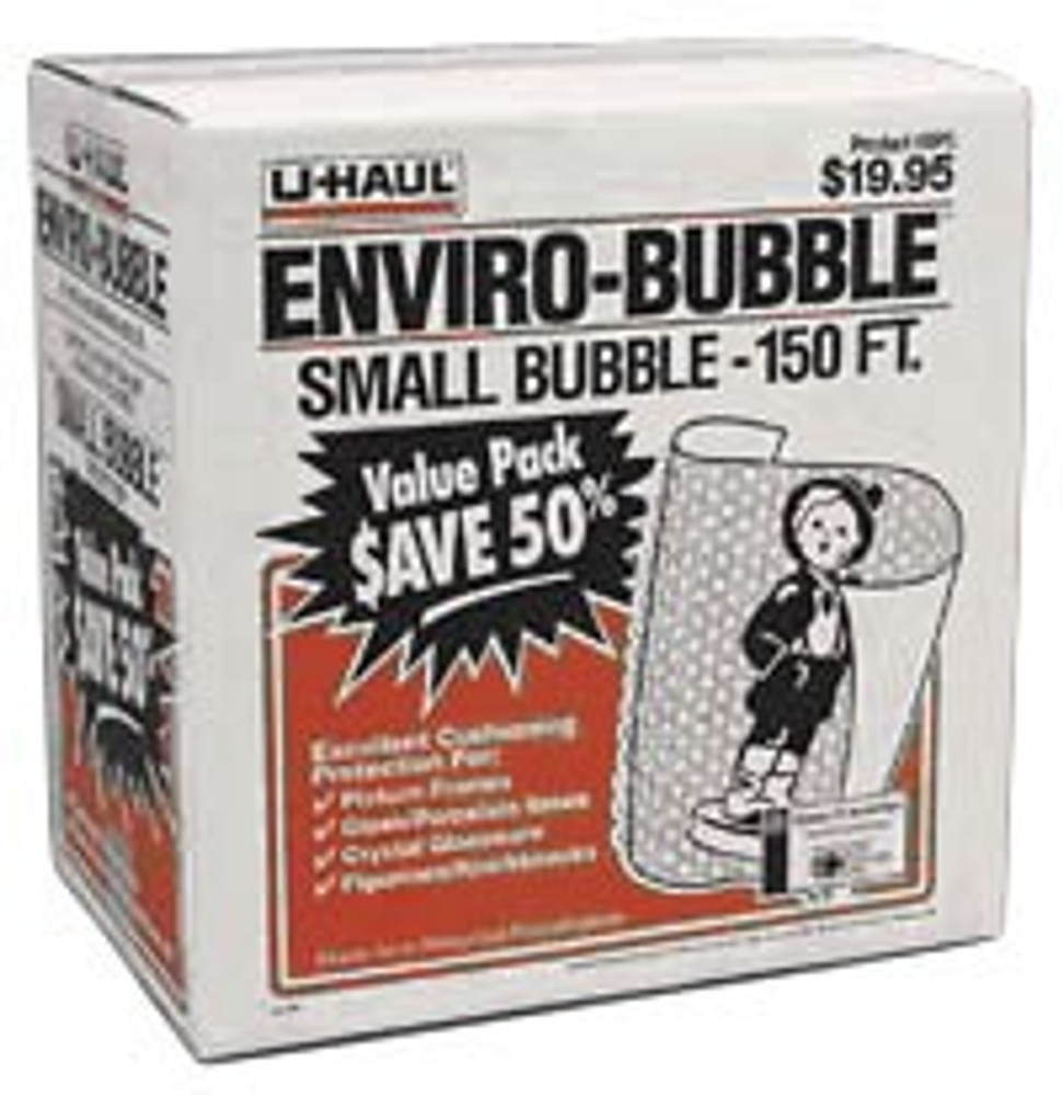 "U-Haul Bubble Wrap, 12"" x 150' x 3/16"""