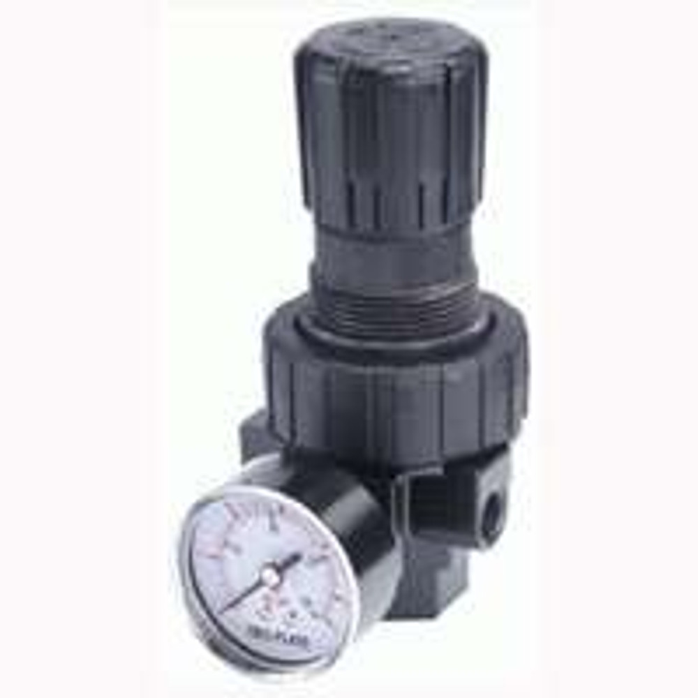 "Air Line, Regulator, 1/4"" FPT, 2 - 125 PSI"