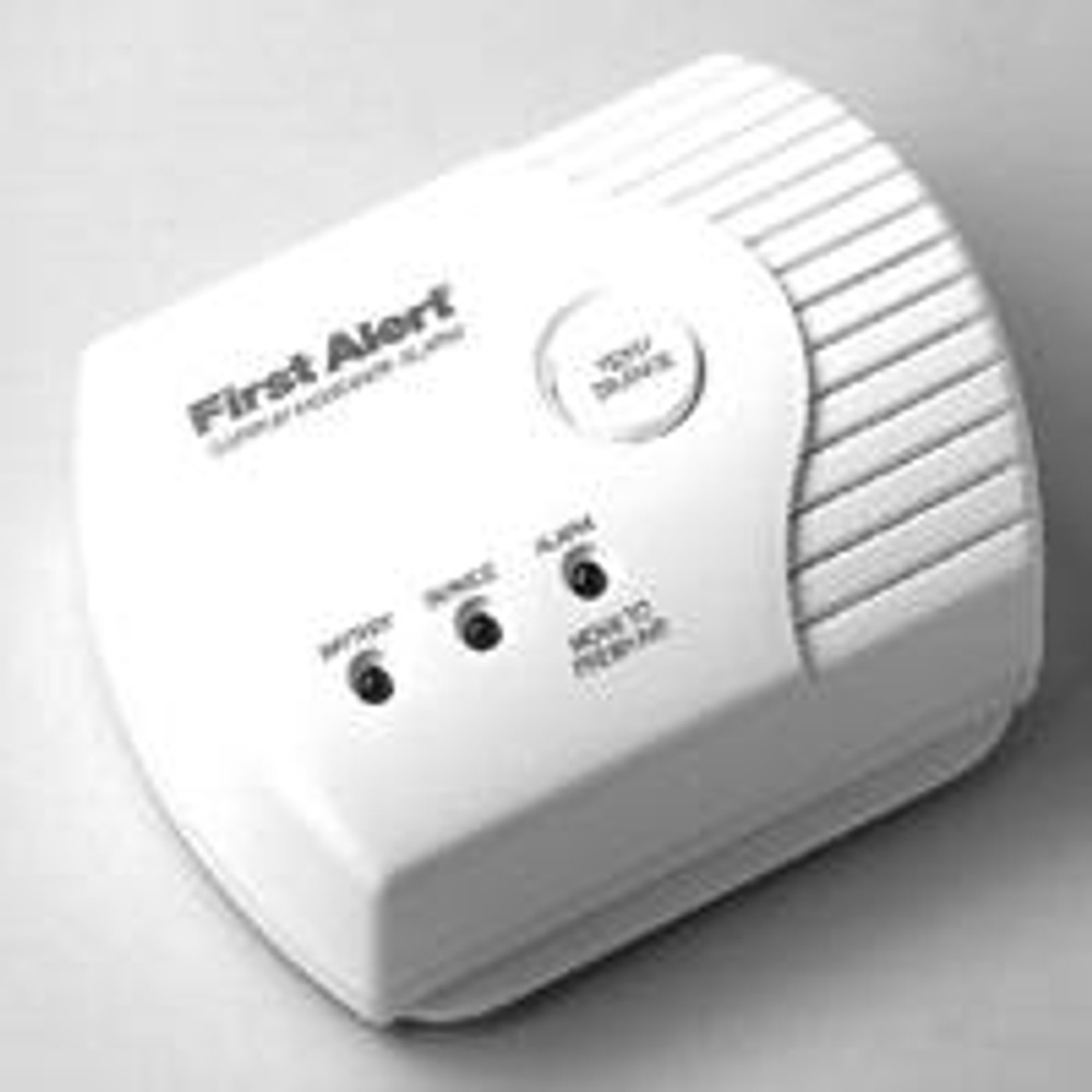 Carbon Monoxide Detector, 9V Battery Powered