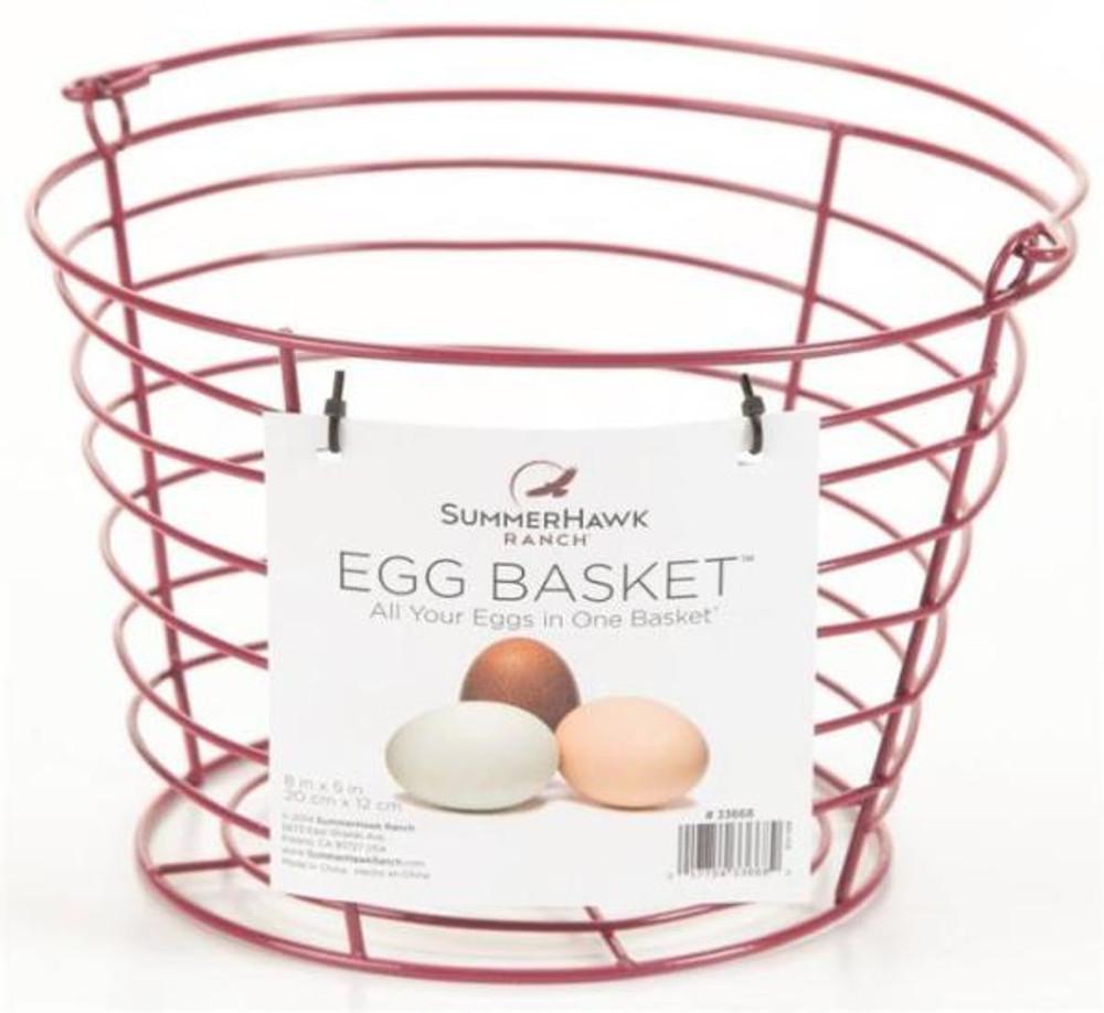Egg Basket, Holds Up To 3 Dozen Eggs, Red