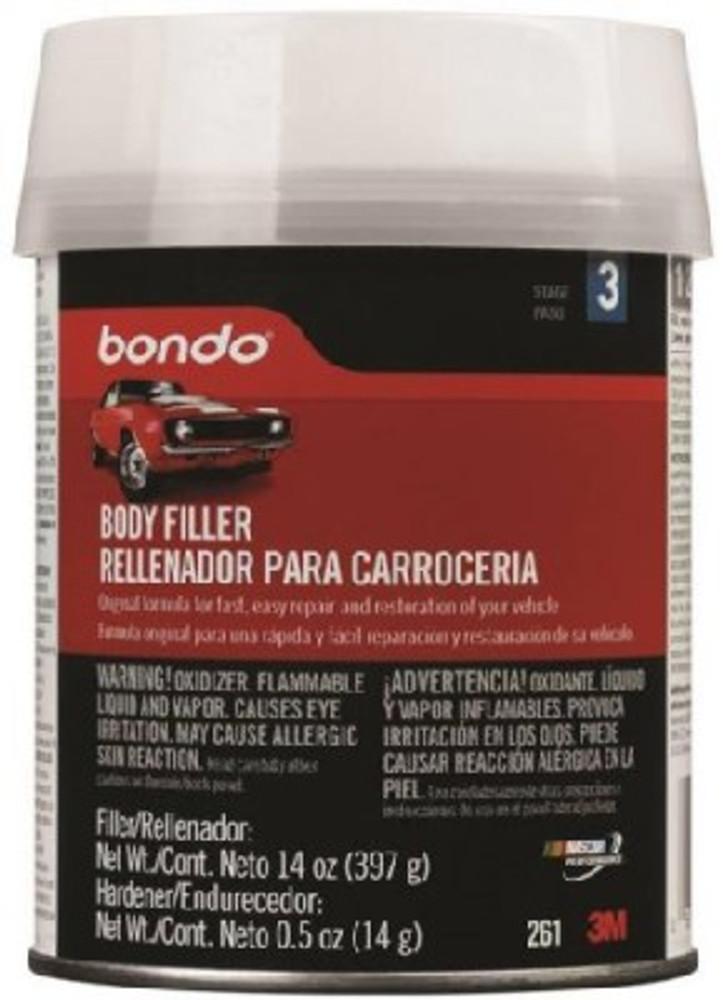 Bondo, Lightweight Body Filler, 1 Pint