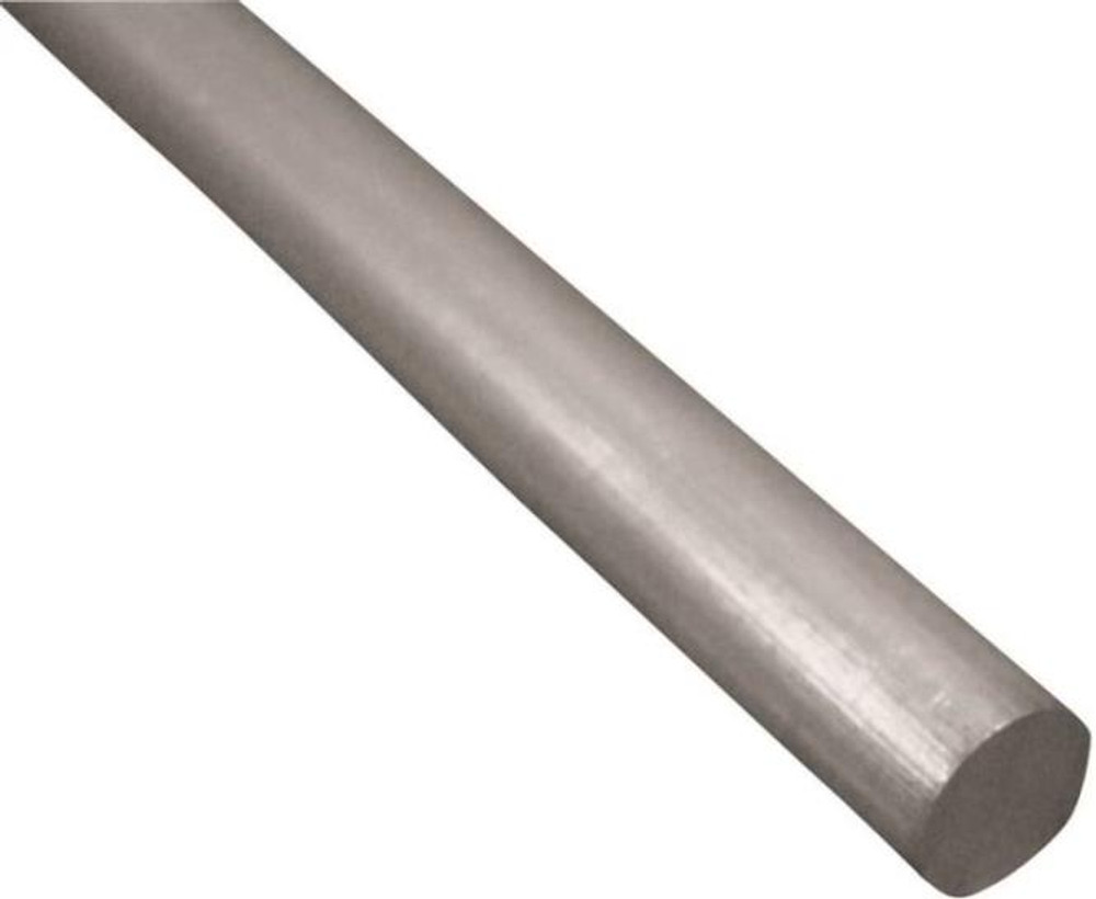 "Aluminum Rod, 1/4"" x 36"", Mill Finish"