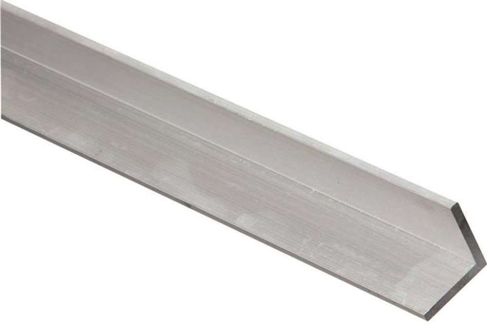 "Aluminum Angle, 1-1/2"" x 1/8"" x 48"", Mill Finish"