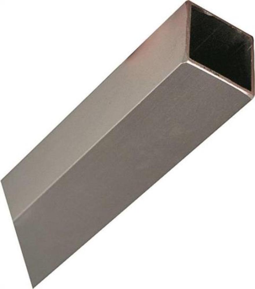 """Aluminum Square Tube, 3/4"""" x 36"""", Mill Finish"""
