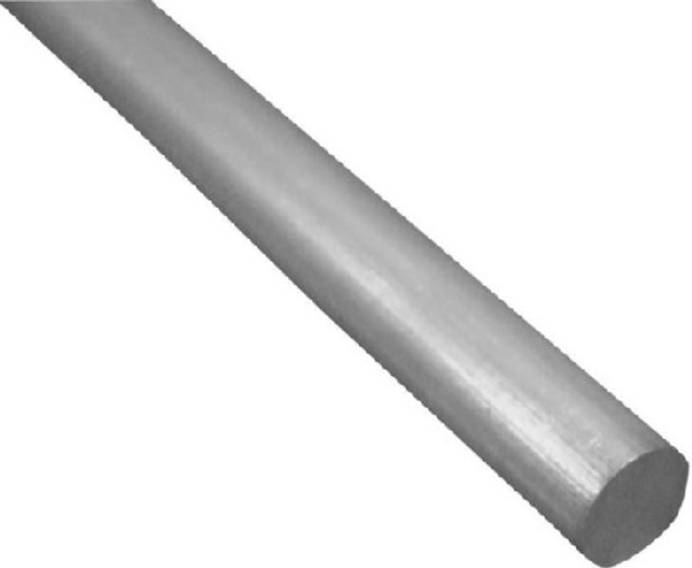 "Aluminum Rod, 3/8"" x 36"", Mill Finish"