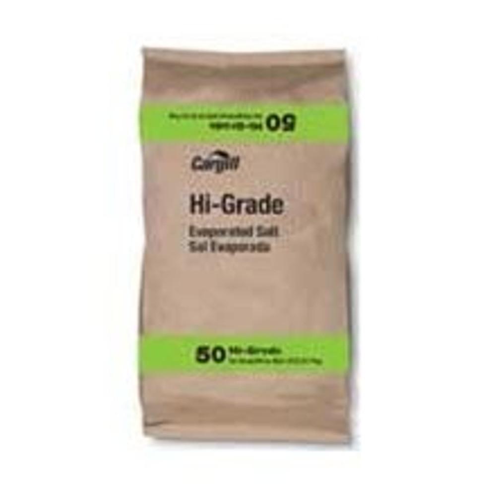 Salt, Evaporated Salt, Hi-Grade, 50 Lb
