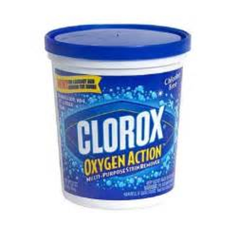 Clorox, Oxygen Action Laundry Stain Remover, Powder, 32 Oz