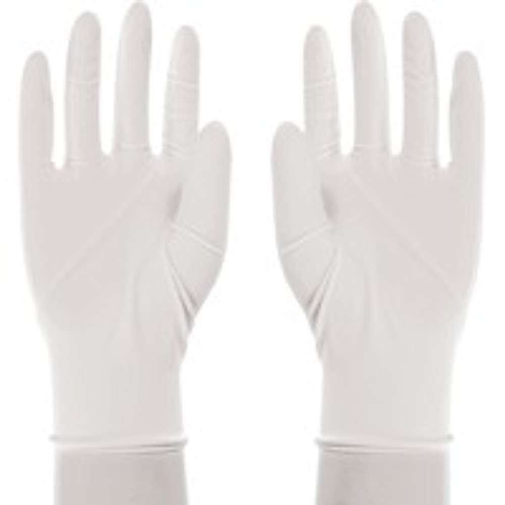 Gloves, Latex, Lightly Powdered, Medium, 5 Mil, 100 Pack