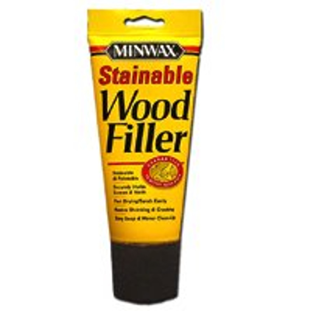 Minwax, Stainable Wood Filler, 6 Oz Tube
